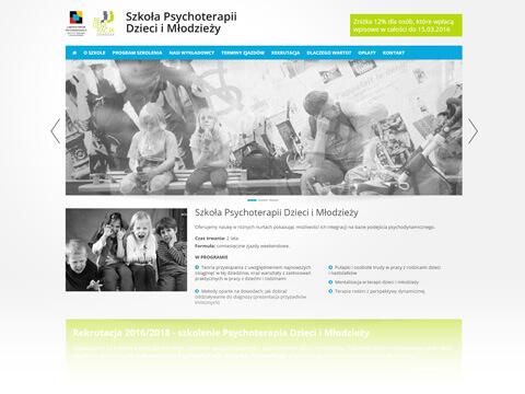Szkoła Psychoterapii Dzieci i Młodzieży
