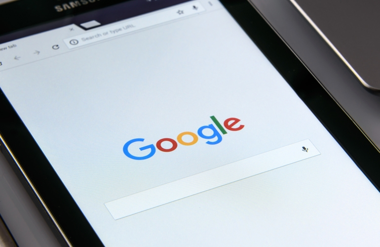 Wysoka pozycja w Google